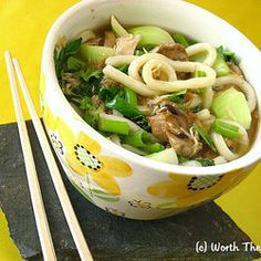 Coconut Lemongrass Somen Noodle Soup | Noodle Soups, Japanese Recipes ...
