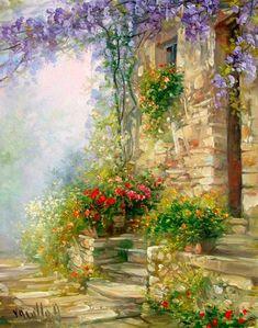 Антуанетта Varallo ~ Итальянские пейзажи. Обсуждение на LiveInternet - Российский Сервис Онлайн-Дневников
