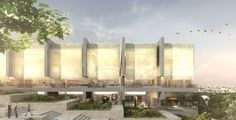 Gallery - Israel National Library Competition Entry / Gil Even-Tsur - 3