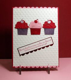 IC281 Pink 4 U Red 4 Me by vdm - Cards and Paper Crafts at Splitcoaststampers