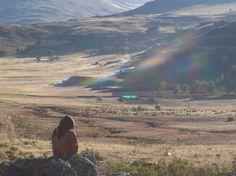 Efectos de sol, en Calipuy en Santiago de Chuco, La Libertad