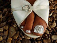 bridal pedicure