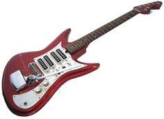 rare guitars | ... Teisco Et-460 Et460 Silvertone 4kl Vintage Guitar | Silvertone Guitar