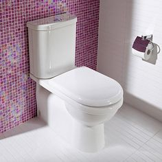 Newport Wall Faced Standard Toilet Suite - Back Inlet