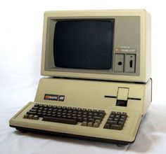"""1980 - Apple III .... Look how far we've come.... Julia...had you told me in 1980 about the iPad, I'd have called you a liar. """"Any sufficiently-advanced technology is indistinguishable from magic.""""  Arthur C. Clarke"""