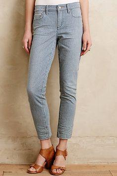 Pilcro Stet Railroad Stripe Jeans