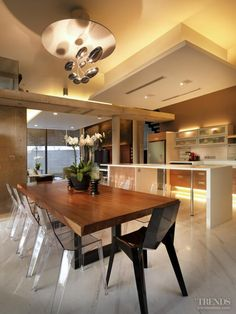 Climate control - Sustainable design influenced this home - Kitchen Design