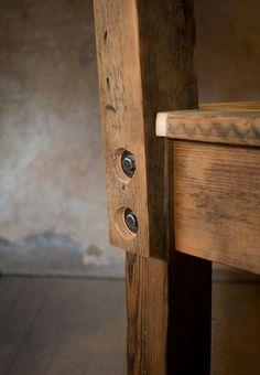 Timber House reclaimed furniture bar stool-2, via Flickr.