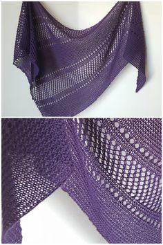 Ravelry: Ardent shawl in Cascade Yarns Heritage Solids - knitting pattern by Janina Kallio.
