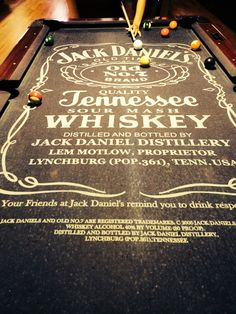 I've gotta have this someday. Love pool. Love Jack. Mmmmm.