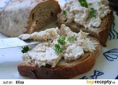 Tuňáková pomazánka recept - TopRecepty.cz French Toast, Breakfast, Food, Morning Coffee, Meal, Essen, Hoods, Meals, Morning Breakfast