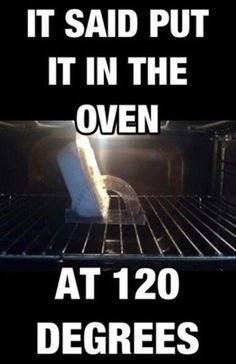 When engineers cook.
