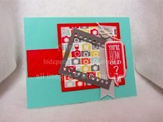 Stamps, Paper, Ink Create!: Card two for March Sketch-