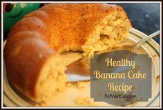 Healthy Banana Cake Recipe