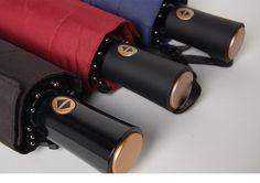 10 spokes oversize big large windproof parasol umbrella london black business automatic open close men fold travel rain umbrella
