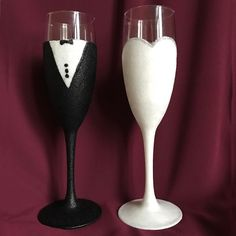 Beautiful Bride and Groom Champagne Set All glasses come in their own presentation box and include a guide on how to look after them. If you have y...