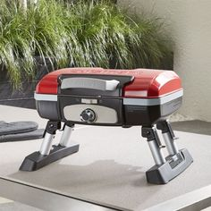 Cuisinart ® Petite Gas Grill | Crate and Barrel