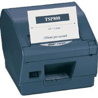 Overview  The Star TSP847 is an Ultra high speed direct thermal printer.. This printer is fully packed with features and performance that is unmatched in a receipt and specialty printer.  The TSP800 also has logo store capability, which adds prof