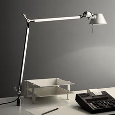 Tolomeo Mini Desk Lamp With In Set Pivot By Artemide Tol0065 In 2020 Classic Table Lamp Desk Lamp Table Lamp