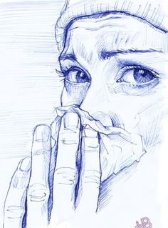 "Saatchi+Art+Artist+HB+Graphik;+Drawing,+"".colds+time.""+#art"