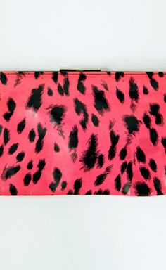 Dolce & Gabbana Pink And Black Clutch