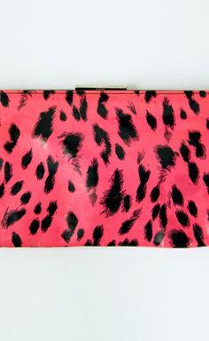 Dolce & Gabbana Pink And Black Clutch