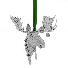 Wendell August pewter Christmas moose ornament (Made in America) Wendell August, Nutcracker Ornaments, Old Forge, Christmas Moose, Christmas Decorations, Christmas Ornaments, Christmas Ideas, Metal Crafts, How To Make Ornaments