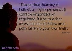 spirituality. Follow your own path.