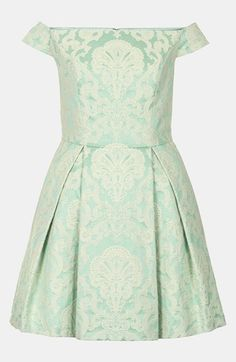 Shop the latest need-to-have dresses at Topshop. From party dresses, to maxis and midis, find your new season style. Order now for free collection at Topshop. Mint Dress, Dress Up, Green Dress, Mini Dresses For Women, Clothes For Women, Vestidos Color Menta, Bridesmaid Dresses, Prom Dresses, Bridesmaids