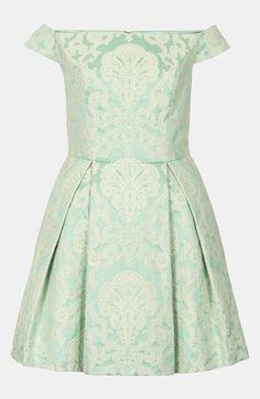 Topshop Debutante Off Shoulder Dress | Nordstrom