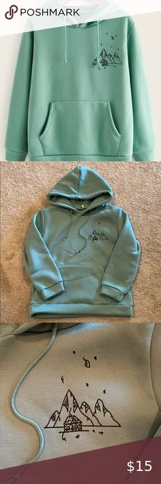 NEW KEY CLOSET Graphic Hoodie Sweatshirt Tattoo Blue Foil Jacket  Dragons