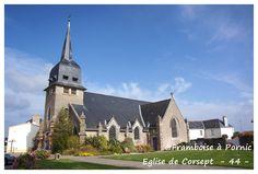 Corsept, Eglise Saint Martin ( extérieur ) - Framboise à Pornic