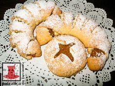 O patratica din Turcia mea: CORNULETE CU MERE Bagel, Doughnut, Bread, Desserts, Food, Tailgate Desserts, Deserts, Essen, Dessert