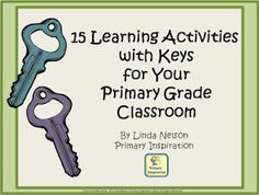 Classroom Freebies Too: Using Keys for Center Activities