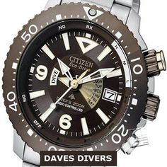 (45% OFF RRP) CITIZEN PROMASTER AIR DIVER RADIO CONTROLLED 200M BY2000-55W