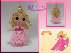 Crystal Beads, Crystals, Wire Crafts, Beads And Wire, Princesas Disney, Bead Weaving, Creations, Dolls, Christmas Ornaments