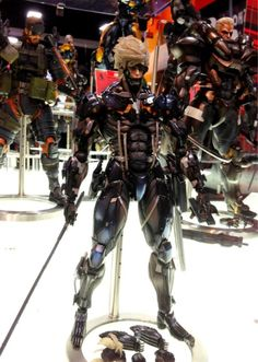 Black Raiden Protoype =D I want it...so much...