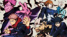 HD wallpaper: anime, anime boys, Jujutsu Kaisen, Yuji Itadori, Sakuna, Megumi Fushiguro