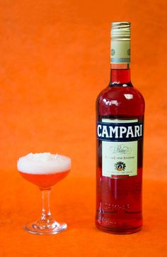 The Wherever I May Foam by Yael Venegroff of The Spare Room in Hollywood, CA, makes it easy to get to know @campariofficial, subtly mitigated by demure coconut and the lovely texture of egg-white foam.