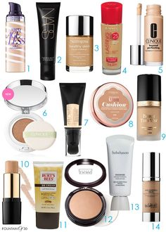 The Best of The Best in Anti-Aging Foundations  Every woman over a certain age is looking for a foundation to help her turn back the hands of time. Here are some of our favorites that range from luxury to drugstore. Guess which ones are our faves?