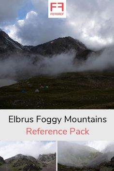 Reference Pack: 86 photos of Elbrus Foggy Mountains by HermannK. A high-altitude mountainous environment in the mist. Foggy Mountains, License Photo, Photo Reference, Mists, Illustrators, Environment, Clouds, Photo And Video, Photos