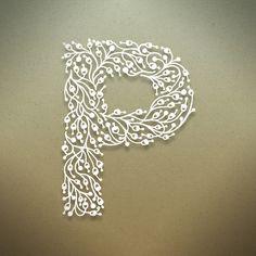 Botanical Alphabet by Seth Mach, via Behance