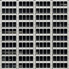 facade, via Flickr. Window Wall, Urban Photography, Graphic Patterns, Facades, Cladding, Textures Patterns, Paper Craft, Modern Architecture, Art Projects
