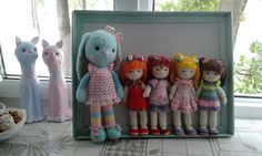 #Knitted_dolls_Ludmia_Grigorieva