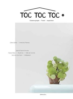 Toc Toc Toc magazine issue 14 was Inspirations Magazine, Creative People, Travel Inspiration, Creations, Place Card Holders, Herbs, Beautiful, Things To Sell, Design