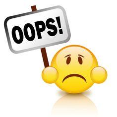 Diario da Fafi: 7 erros que você não devia cometer