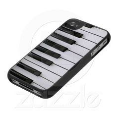 Piano Key Design iPhone Case