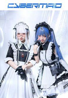 Cute Cosplay, Cosplay Girls, Cosplay Costumes, Maid Outfit, Fantasy Dress, Pretty Asian, Kawaii Clothes, Lolita Fashion, Alternative Fashion