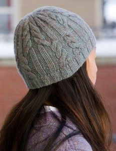Free knitting pattern for Utopia Cabled Hat and more beanie knitting patterns