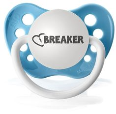 Silicone Pacifier - Heart Breaker